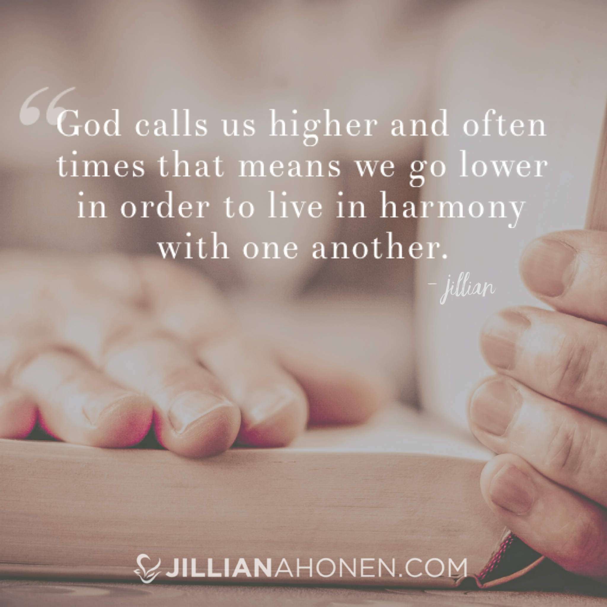 How to Live in Harmony