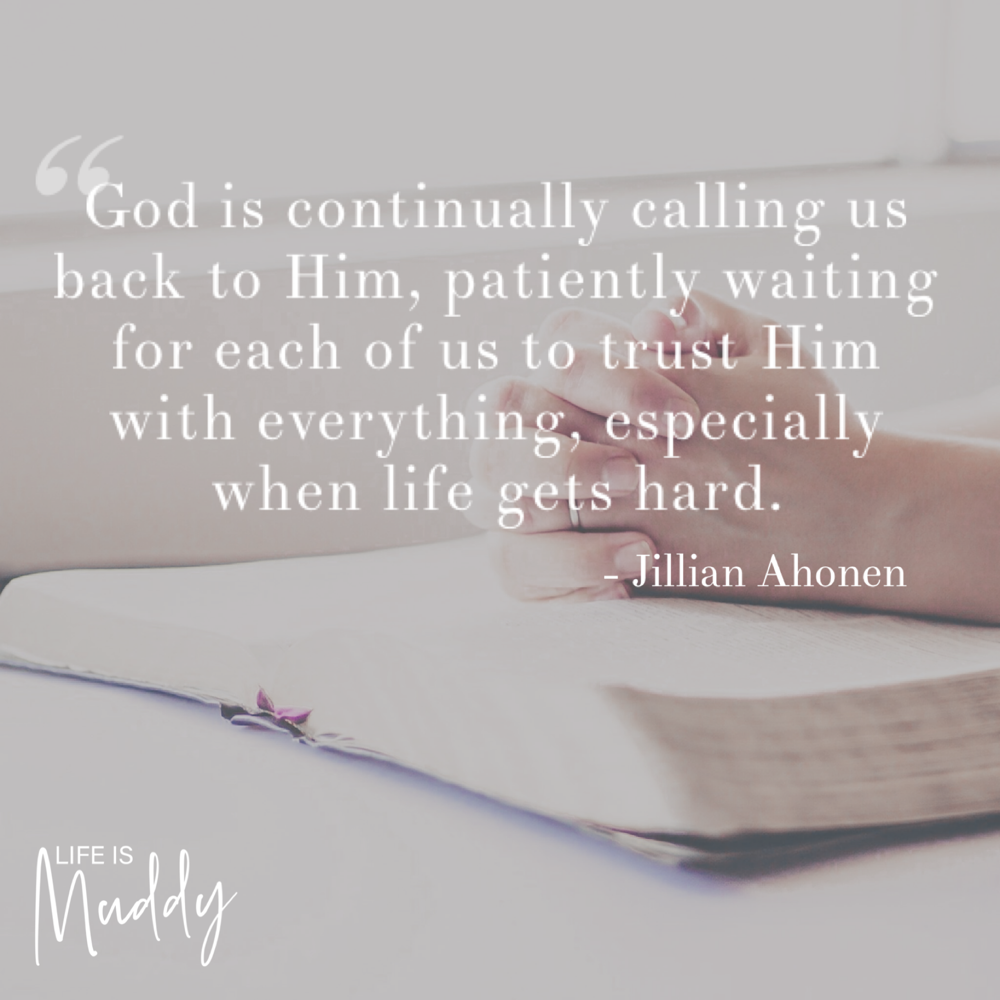 Trusting God In All Things