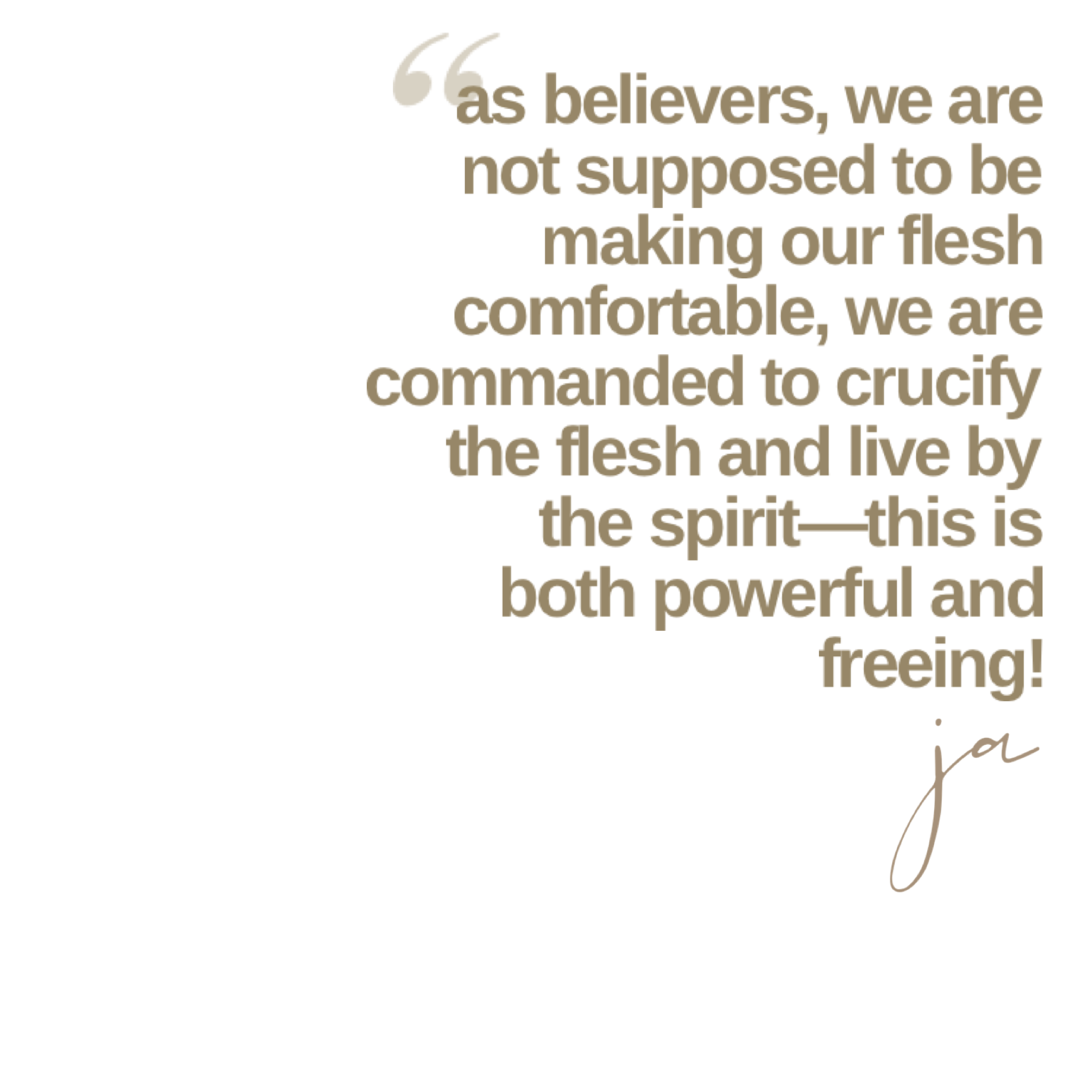 You are currently viewing Crucifying the Flesh Unlocks Your Life in the Spirit